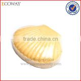 softly hotel size soap shell shaped massage spa bath soap