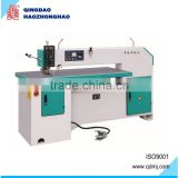 Woodworking veneer stitching machine