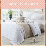 New 100% polyester hotel bedsheet fabric of good quality made in china