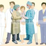 Inquiry about nonwoven disposable gown surgical gown hospital gown