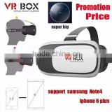 Plastic Google Cardboard Adjust VR Virtual Reality Headset VR BOX 3D Glasses For iPhone 6S 4.7~6inch