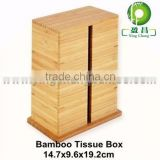 Bamboo funny royal fancy tissue box holder