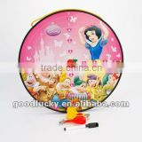 Cartoon kid gifts round shape magnetic dart board