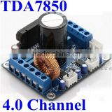 Upgraded Vesion! TDA7850 dc 12V Audio Power Amplifier Circuit PCB Board 4.0 Channel Car Amplifir Module with BA3121