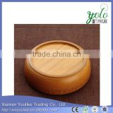 Eco-friendly tableware high quality natural bamboo bowl Adorn your dinner time                                                                         Quality Choice