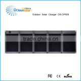 50w high efficiency mono folding solar panel watt folding solar panel for boat RV portable solar system