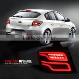 Modified LED Tail lights For 2014-2016 Chevrolet Cruze Hatchback Rear light tail Lamps Smoke Red