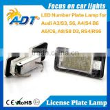 Wholesale Price Factory Supply Emark E4 12V Auto led license plate light a4 accessories for car