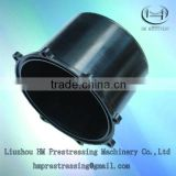 prestressed <b>vacuum</b> grouting anchorage <b>head</b> protective sleeve