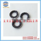 Auto 1.3mm*23.6mm*15.5mm air-conditioner compressor washer gasket/shaft seal/sellos silver