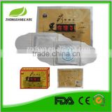 Chinese troditional herbal fomular for Detox foot moxibustion heating patch for health care