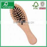 Chinese Natural small brush Wooden tangle hair brush Brush Healthy Massage Hairbrush Freeship