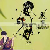 New Shinsuke Takasugi - Gintama Anime Wall Decal Japanese Waterproof Vinyl Multifunction Decorative Sticker OSK013