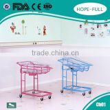 CE ISO Approved safe metal baby bed