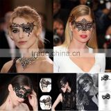 Masquerade Carnival Dance Party Eye Lace Mask For Sexy Lady makeup