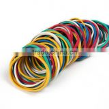 High Quality 32mm Popular Color Elastic Loom Nutural Silicone Rubber Band Wholesale Price
