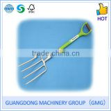 Extra Long Carbon Stainless Steel Digging Fork With Ash Wood Shaft And Cushioned Grip (GMG)