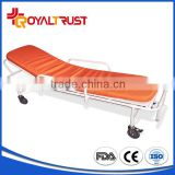 Factory Price Castor Steel Ambulance Stretcher, Used Ambulance Stretcher, Cheap Ambulance Stretcher