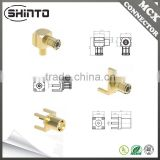 Shinto MCX Plug Straight Connector For PCB For TV Antenna