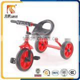 Simple light 3 wheel baby tricycle children pedal car with cheap price from china factory