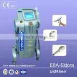 Remove Diseased Telangiectasis E8A Multifunctional Ipl Permanent Hair Removal Portable & Nd Yag Laser Tattoo Removal Device Skin Tightening