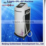 2013 New design E-light+IPL+RF machine tattooing Beauty machine body contouring home use body slimming rf&thermacool cosmetology