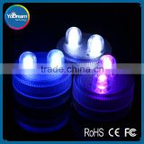 Birthday Candles New Products Led Candle Lights Submersible Plastic Floating Candle lights