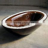 garden stone carving water bowl