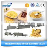 Twin screw Breakfast Cereal Corn Flakes/Fruit Loops/Choco Chips Machine Production Line