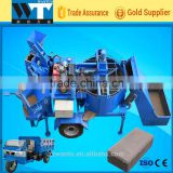 Traction and Mobile Diesel Powered Hydraulic Cement Brick