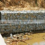 Anping factory supply best quality 100*150mm hot dipped galvanized gabion Mesh/cages filled with rocks/Gabion Basket of Manufact