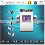 Professional beauty devices manufacture Lastest Ultrasound Vacuum body shaping machine for weight loss machine