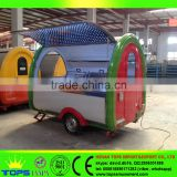 Churro Food Trailer Truck Towable Fast Mobile Kitchen Tricycle
