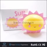 LED baby sun toy night light room decorative smile lamp