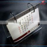 Factory supplier Customized promotional acrylic table desk calendar stand