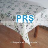 big sale !!!2015 new classic flannel/PVC/PE table cloth with good quality for home/hotel