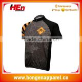 Hongen apparel Accept sample order mountain cycling jerseys/custom bicycle jersey/sublimation cycling shirt with competitive