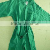 GREEN safety working suits/green coverall workwear