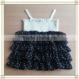 Summer Breathable plain Dyed baby tutu chiffon skirt for girls for stage & Dancer Wear