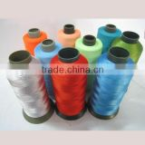 100% polyester bag stitching sewing thread 12/4 20/6