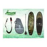 fishtail Fiberglass standing paddle board fish surfboard with Deck Pad / Board Bag