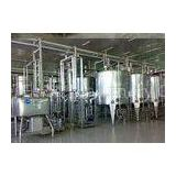 Turn Key Project Fresh Milk Processing Machine / Dairy Production Equipment with Pasteurization