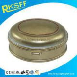 Zinc Alloy Oval Jewelry Box