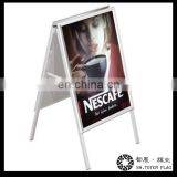 Two Sided A Frame Pavement Sign , Outdoor Customer Stopper