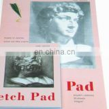 150gsm 30sheets wire bound colored cover A3 Sketch pad
