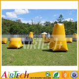 Inflatable paintball shooting range field