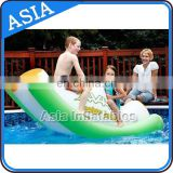 Inflatable Aqua Totter / Floating Water Totter For Water Game / Water Park Toys For Adult
