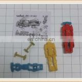 diy mini toy robot plastic promotion gift