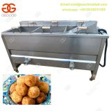 High Quality Semi Automatic Deep Frying French Machine|Easy Operate Potato Chips Deep Fryer Machine
