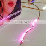 Party new design magic magnetic led eyelashes